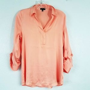 The Limited Peach Pie Blouse